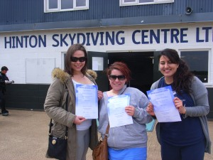 Safely landed and certified...sorry...with certificates.